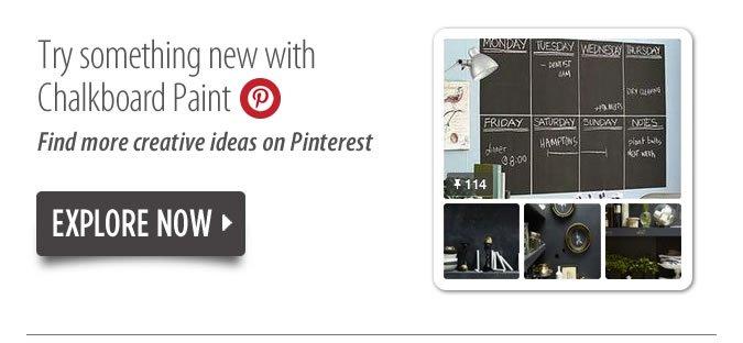 Chalkboard Paint Pinterest
