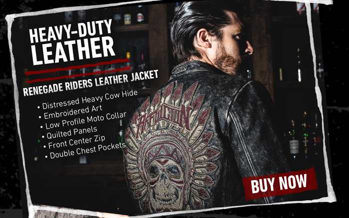 Official affliction renegade riders leather jacket for men or women jpg  700x438 Affliction renegade riders leather 77c39e48db0