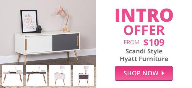 Scandi Style Hyatt Furniture
