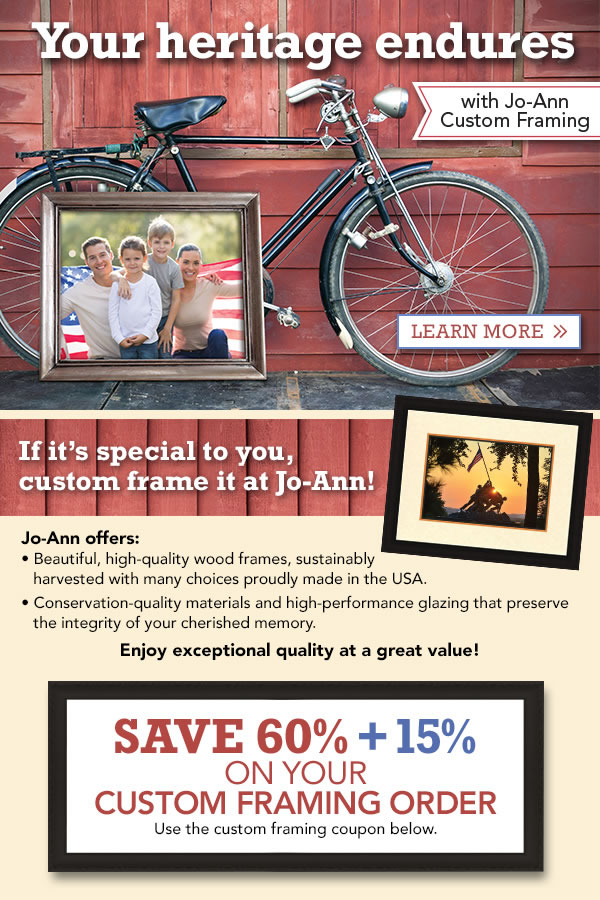 Joann fabrics printable coupons custom framing : Beaver coupons