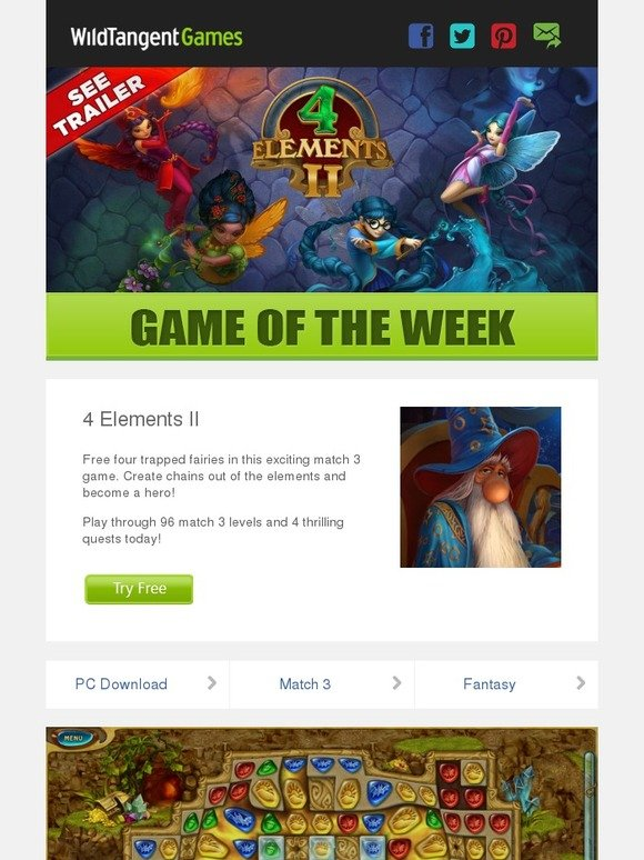 WildTangent Games: Check out our Game of the Week! | Milled