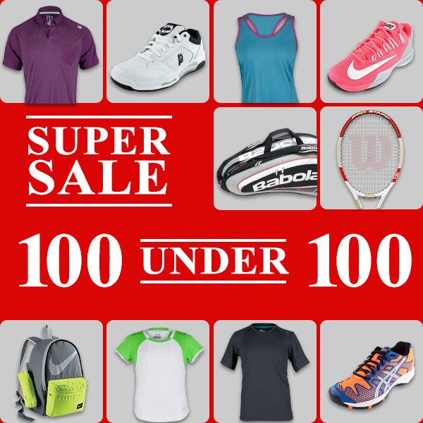Tennis Express 100 Under 100 Sale Milled
