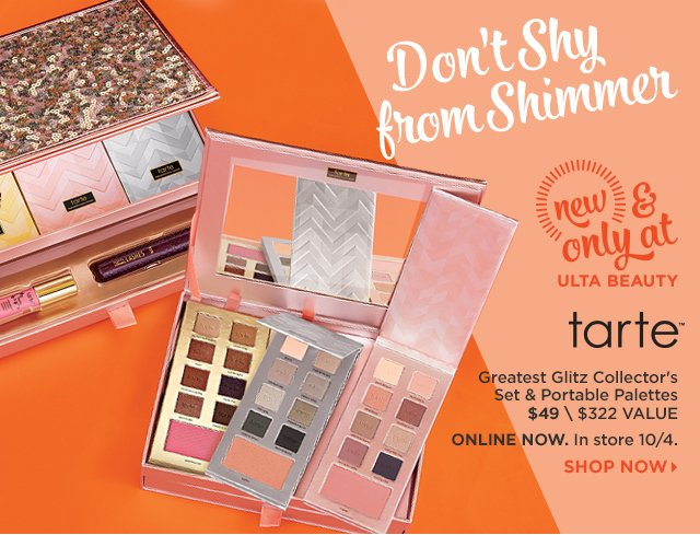 Tarte Greatest Glitz Collector's Set and Portable Palette $49, Shop Now