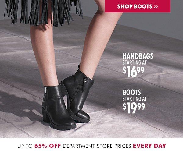 Burlington Coat Factory: Boots & Bags for a Bargain | Milled