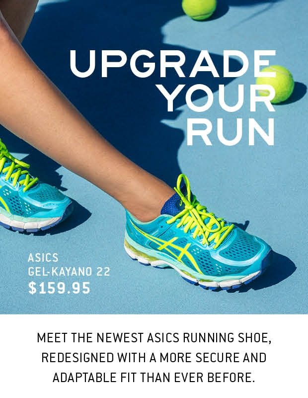 the new ASICS Gel-Kayano 22 is here