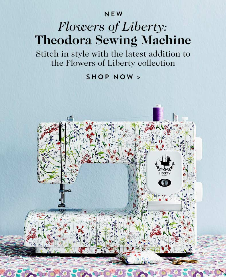 Flowers of Liberty Theodora Sewing Machine