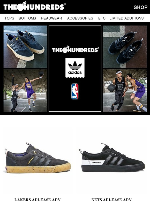 The Hundreds  The Hundreds Presents  The Hundreds X adidas X NBA -  Available Now!  d4677972f