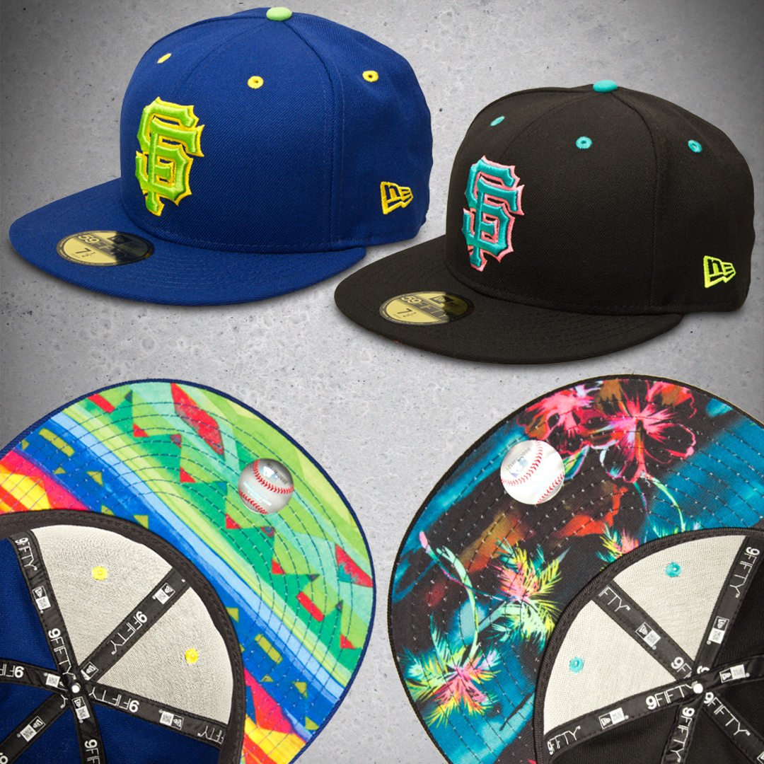 SF Giants, Tropical, Aztec, San Francisco, Baseball, New Era Hats, Upper Playground