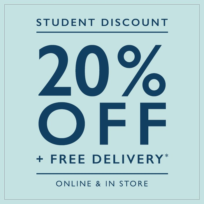 Students get 20% OFF storewide now, order today from ASOS. At Uni Student discounts we search for these discount codes and list them below for your convenience. Enter the ASOS student discount code at the checkout to redeem up to 20% OFF storewide online.