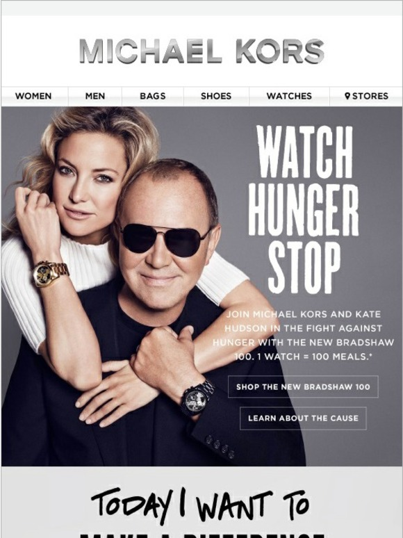 Michael Kors It S Time To Watchhungerstop Milled