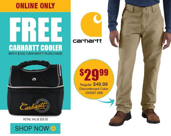 Carhartt Can Cooler ~ Bootbarn free carhartt cooler milled