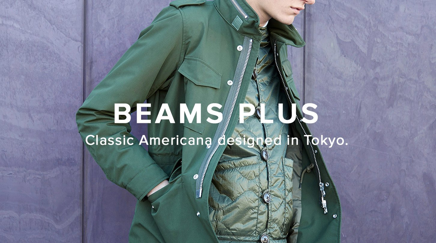 End : Shop the latest arrivals from Beams Plus and New