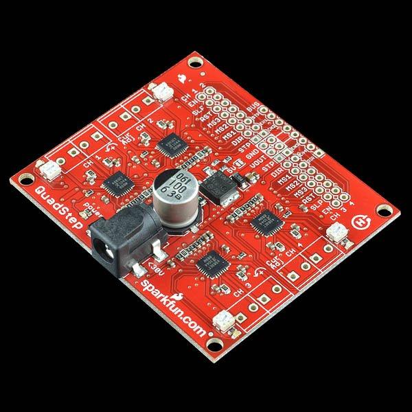 Motor/Stepper/Servo Shield til Arduino - v20 m