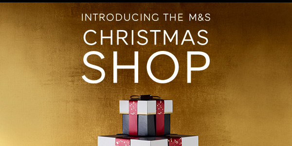 Introducing the M&S Christmas shop