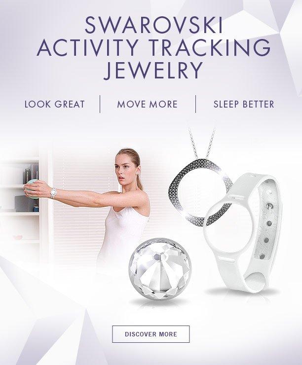 Swarovski: New In: Activity Tracking Jewelry