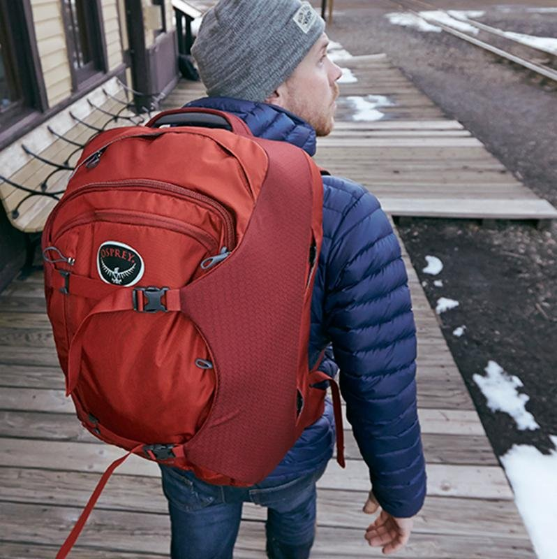Rocky Mountain Trail Osprey Travel Packs Milled