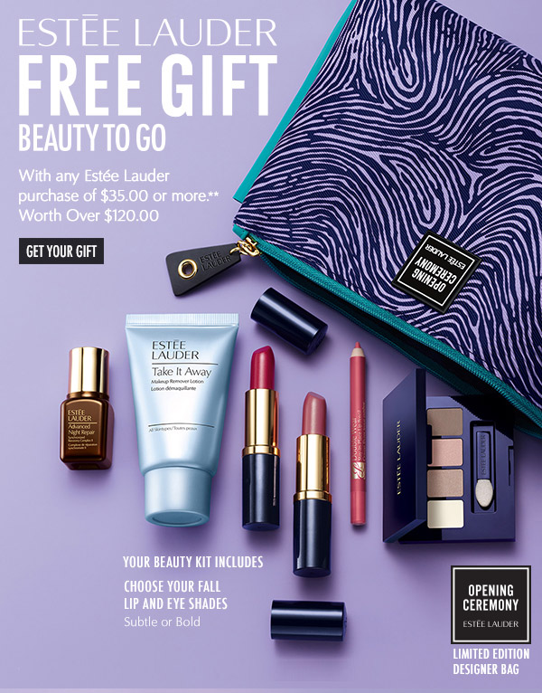 Bostonstore.com: Estée Lauder: FREE Gift w/your $35 Lauder ...