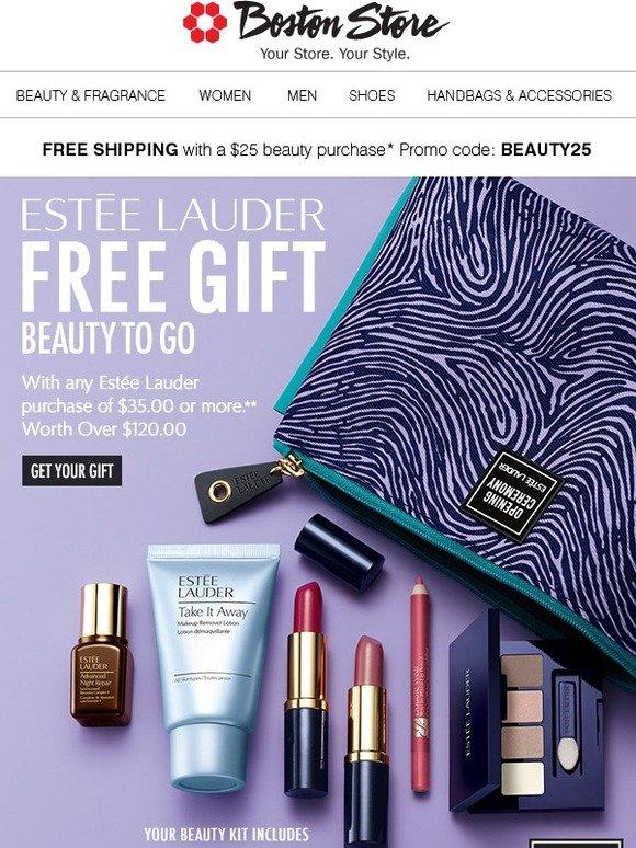 Bostonstore.com: Estée Lauder: FREE Gift w/your $35 Lauder Purchase** | Milled