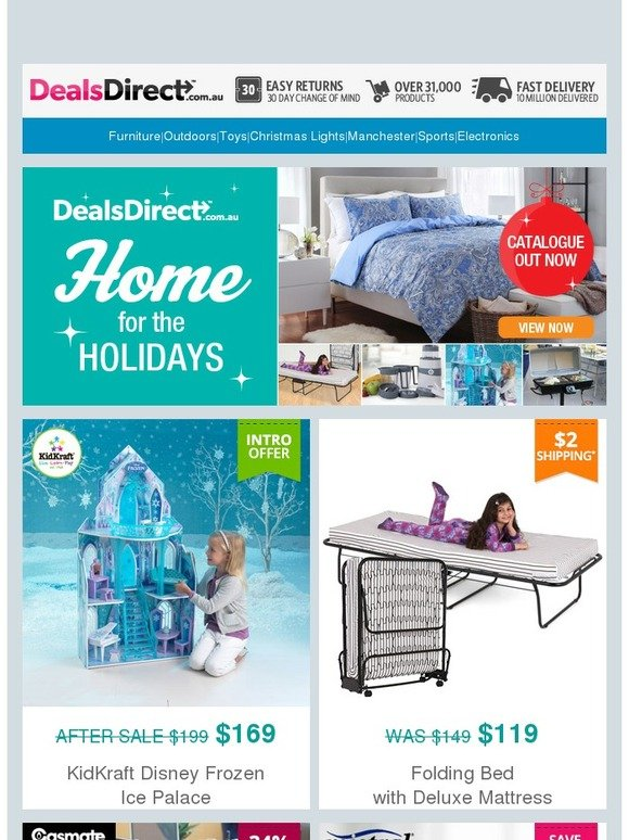 Dealsdirect Home For The Holidays Catalogue Out Now Here