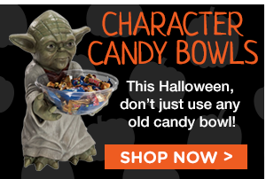 Character Candy Bowls. This Halloween, don't just use any old candy bowl! Shop Now.