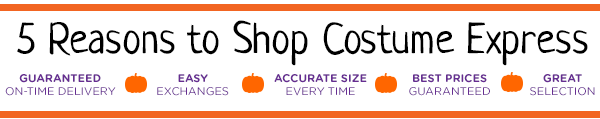 5 Reasons to Shop Costume Express