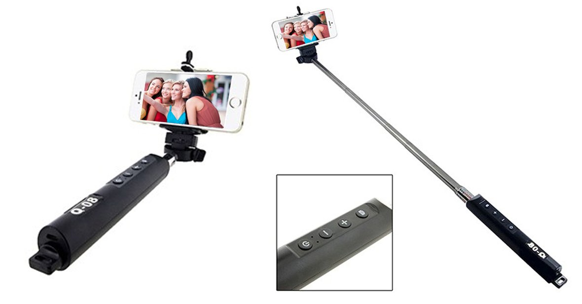 mobstub bluetooth monopod selfie stick with zoom save up to 64 off retail other amazing. Black Bedroom Furniture Sets. Home Design Ideas