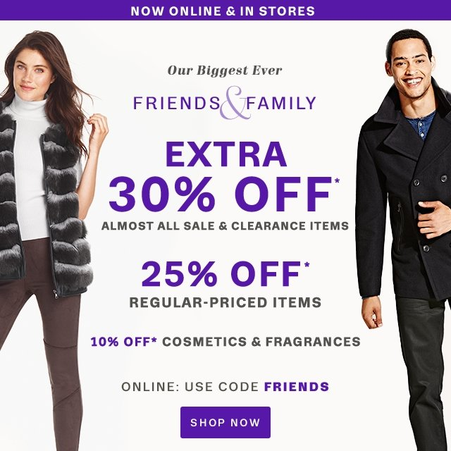 f7034c8e617 Lord   Taylor  Friends   Family Event Is Here  Get An Extra 30% Off ...