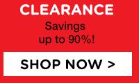 Clearance - Savings up to 90%!