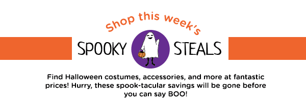 Shop this week's Spooky Steals.