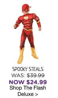 Kids The Flash Deluxe Costume