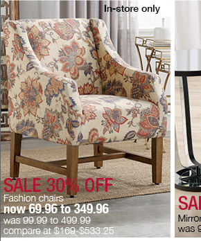 stein mart: big furniture sale! 30% off chairs, accent tables and