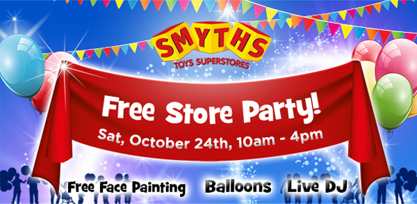 Smyths Toys Hq Half Price Toys This Half Term Free Store