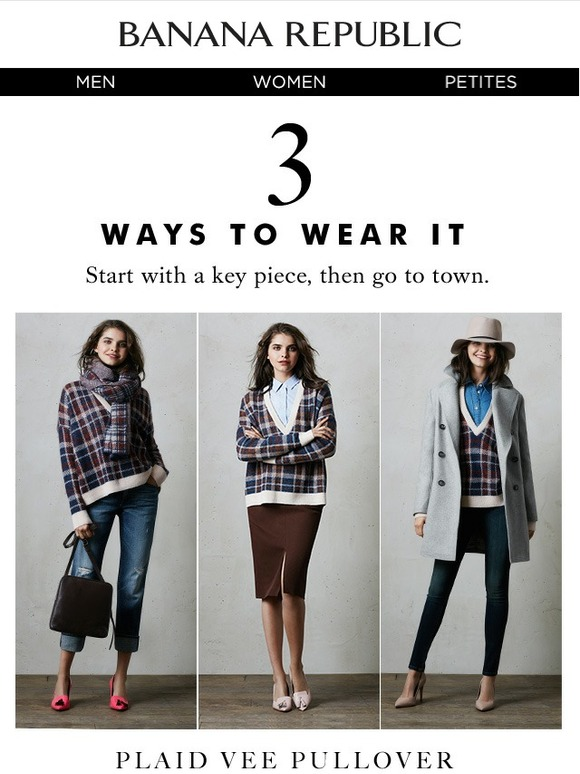 *IN-STORE ONLY. Offer valid at Banana Republic stores in the U.S. and Canada only. Not valid at Banana Republic Factory Stores, online or on third-party branded merchandise. Discount applies to merchandise only, not value of Giftcards purchased, packaging or applicable taxes. Offer good for multiple uses through 1/31/