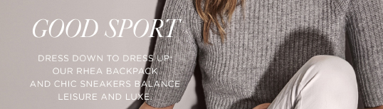 Michael Kors Athleisure Luxe For Winning Style Milled
