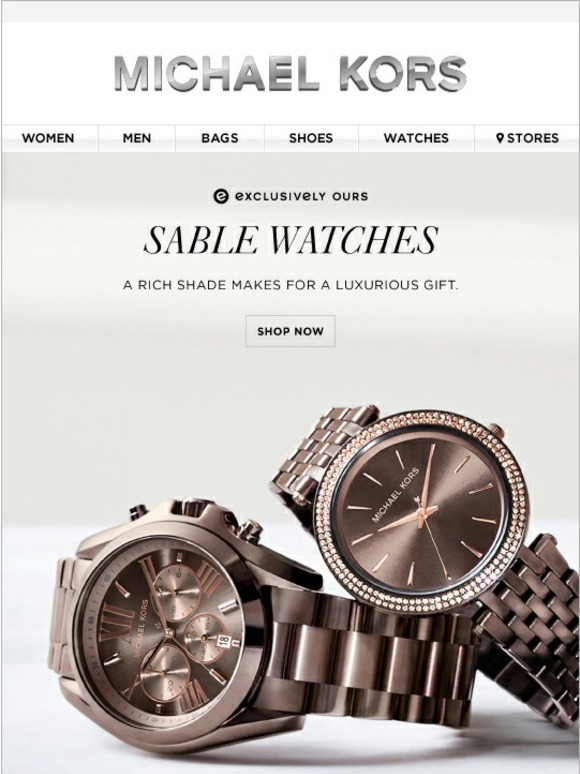 Michael Kors The Hottest Watch Hue Right Now Milled