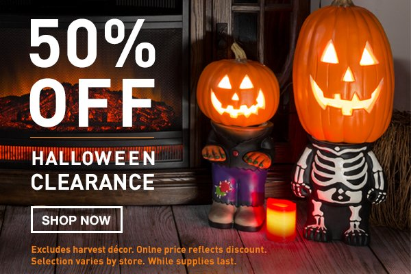 Lowes 50 Off Halloween D 233 Cor Milled