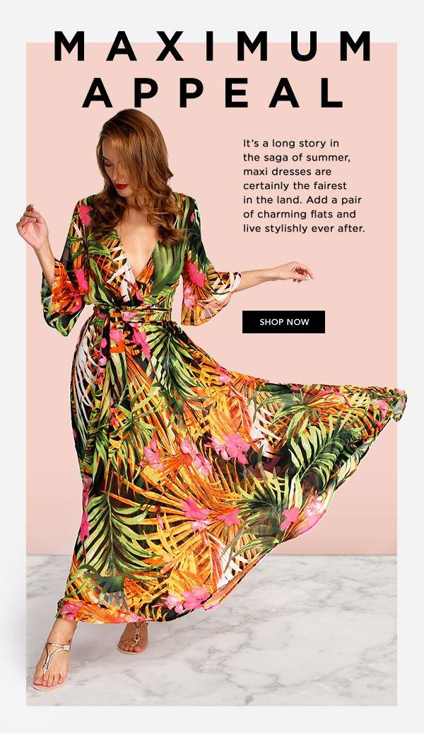 Zando SA: Get Blown Away In These Maxi Dresses