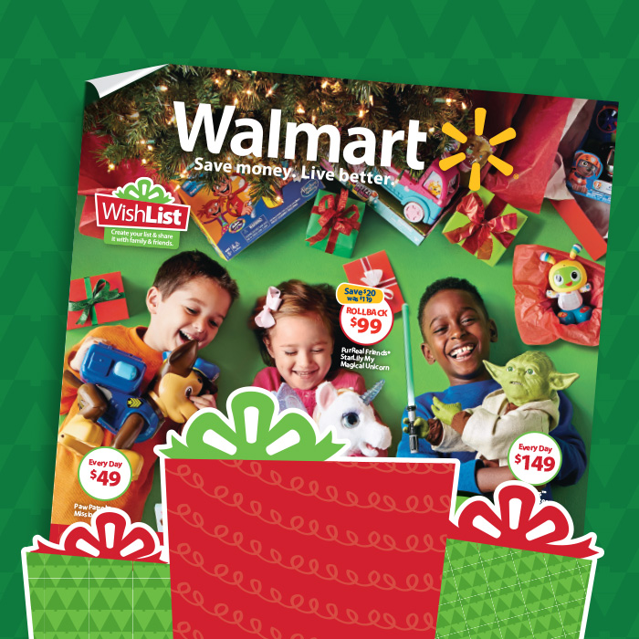 Walmart: Weekly Ad: Holiday Toy Catalog Is Here!