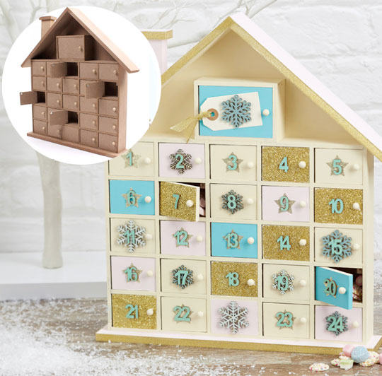 Hobbycraft Countdown To Christmas Milled
