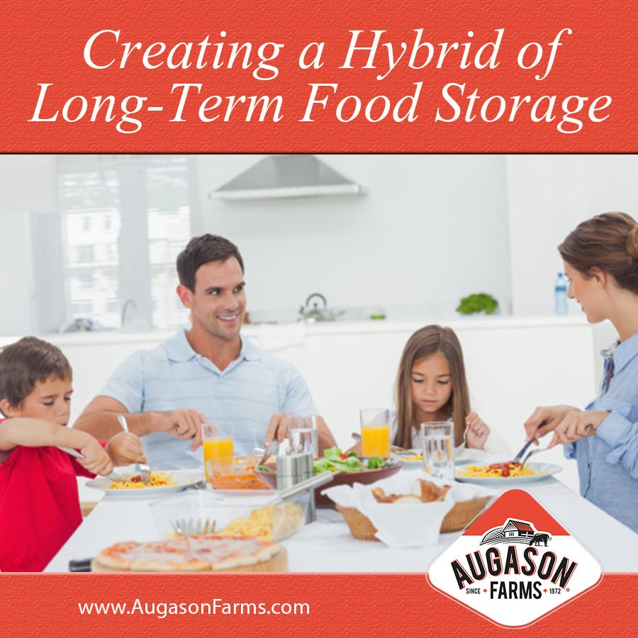 Creating a Hybrid of Long-Term Food Storage