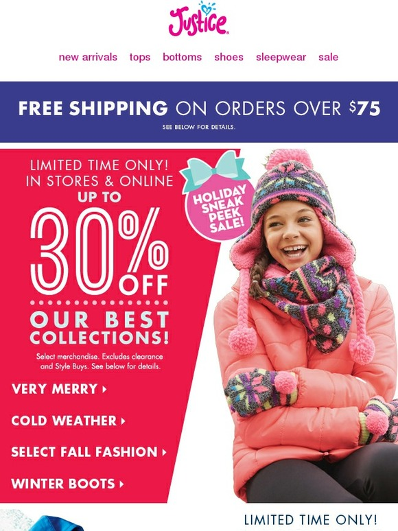 Buying clothes for young girls and teens can get expensive quick. That's why it pays to check this page often for the latest Justice coupons. No matter what season's style you're shopping for, moderngamethrones.ga has you covered.