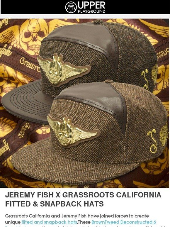 42425d3cacfcb Upper Playground  Jeremy Fish x Grassroots Hats   All Day Beanies ...