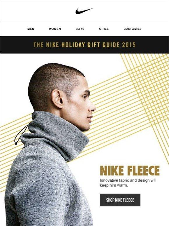 761f9c3cb Nike: Gift Ideas for Him: Nike Fleece   Milled