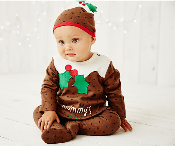 pudding. Christmas Pudding All In One Dress ... - Mothercare UK & Early Learning Centre: Dress Up Your Little Pudding