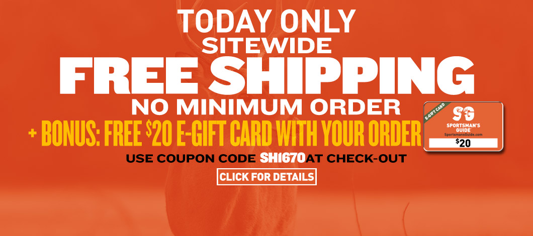 bac03c514b2 One Day Only! Sitewide Free Shipping No-Minimum Order Required! Plus Bonus