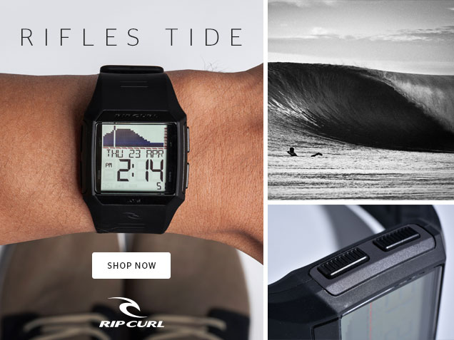 43387c8312c2 Rip Curl: Introducing The Rifles Tide Watch   Milled