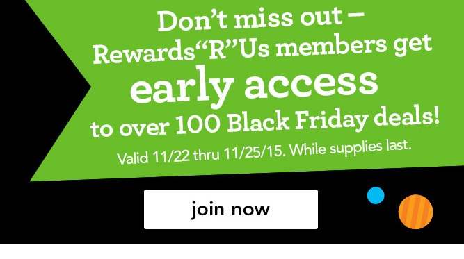 "Nov 25,  · Toys R Us & Babies R Us Rewards Member Earn FREE $10 Reward with Free In-store Pickup Order of $19 or More (Today Only!) Choose the ""Free Store Pickup"" option when placing your order. Please note: Selected items may not be available for same day pickup, but are still eligible to earn a ."