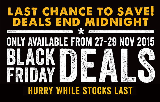 Go Outdoors Don T Miss Out Black Friday Deals Must End