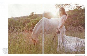 Vera Wang Bride Spring 2016 in Brides Magazine