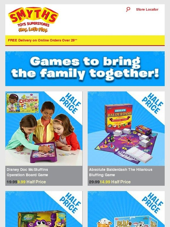 Smyths Toys Hq Great Value Board Games For All The Family